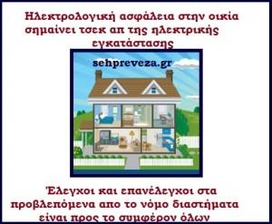 σπίτι ηλεκτρολογική ασφάλεια